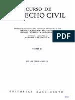 Alessandri Rodriguez, Arturo, Somarriva Undurraga - Curso de Derecho Civil de Las Obligaciones
