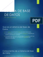 Sistema de Base de Datos 1