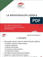 1. La Administración Pública (1)