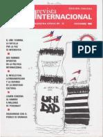 Revista Internacional - Nuestra Epoca N°12 - diciembre 1983 - Edición Chilena