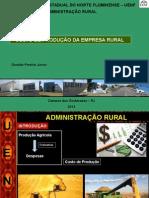 Aula de Custo de Produção Economia agrícola