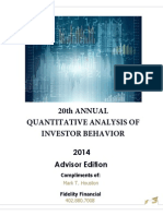2014 Quantitative Analysis of Investor Behavior