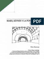 P Kenway - Marx, Keynes, Crisis