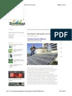 Calentador Solar Con Botellas Pet.