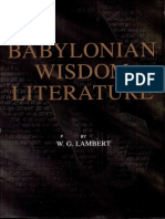 Babylonian Wisdom Literature.pdf