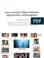 Deep Learning in Object Detection, Segmentation, And Recognition