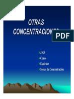 Clases Concentracion Gravimetricas