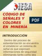Código de Señales y Colores En