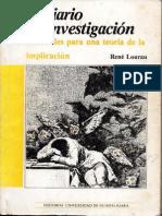 Lourau El Diario de Investigacion Malinowski