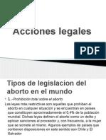 Acciones legales