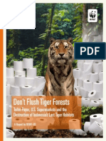 Don't Flush Tiger Forests Report
