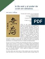 El arte de Wu-wei