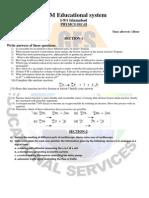 test Phsysics  class 10