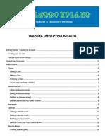 Lesson Plan Documentation