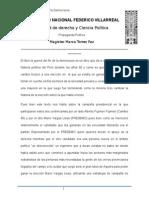 Magister Marco Torres Paz La Guerra Del Fin de La Democracia