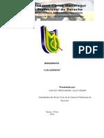 Monografia Los Legados