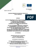 12 Comisia Venetia Dsp Romania