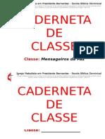 Caderneta de Classe CAPA