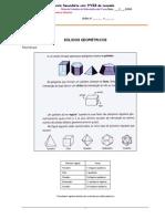 Ficha Informativa de Solidos
