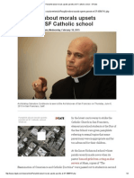 pamphlet about morals upsets parents at sf catholic school - sfgate
