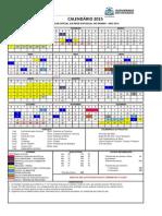 Calendário Oficial 2015 - Rede Estadual de Ensino_pdf