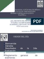 2da Reunión Tutoria 2014-2015