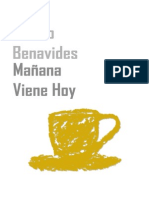 Mañana viene hoy - Álvaro Benavides