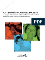 Fostering Educational Success Report 2-17-15 - Fast Facts