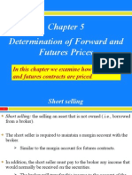 Chapter 5 - Pricing Forwards and Futures (S.v.)