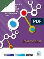 Estudio nacional de consumo de sustancias psicoactivas