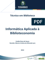 05 Informática Aplicada à Biblioteconomia