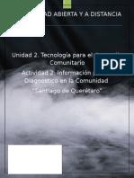 TECNOLOGÍA PARA EL DESARROLLO COMUNITARIO