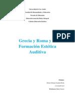 Formacion Estetica Auditiva.trabajo Individual