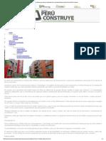 Capeco Advierte Que Cuat... Revista Perú Construye
