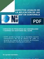 original PPS Aspectos legales de la aplicaci+¦n de las niifs.