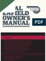 Classic350 Owner Manual
