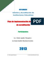 Plan de Implementacion de Acreditacion