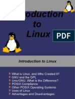 1 Linux Intro