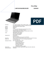 Laptop Catalog
