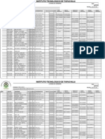 Industrial Horario Ene - Junio 2015 Plan M 2010
