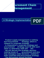 Procurement Chain Management