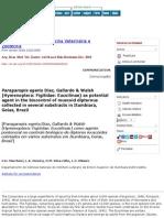 Arquivo Brasileiro de Medicina Veterinária e Zootecnia - Paraganspis Egeria Díaz, Gallardo & Walsh (