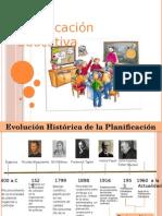 Planificacion Educativa Evolucion