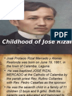 Life in Calamaba of Jose Rizal