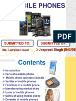 Mobile Phone Presentation by Jaspreet Singh Lakhi