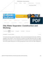 Oily Water Separator_ Construction and Working