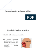 Patologías Del Bulbo Raquídeo