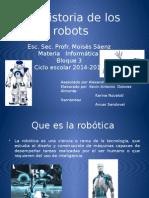 La Historia de Los Robots Completa