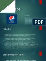 IMC Project2 Group3 Pepsi