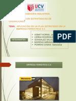 Planeamiento Estrategico Ferreyros s.a.